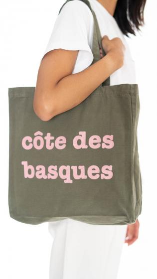 Tote bag Côte des Basques