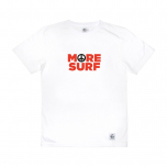 Tee More Surf blanc homme