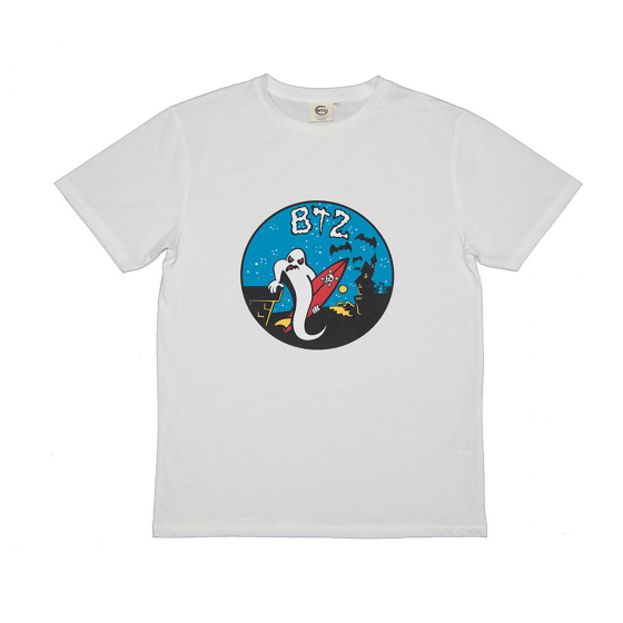 TEE FANTOME BLANC HOMME