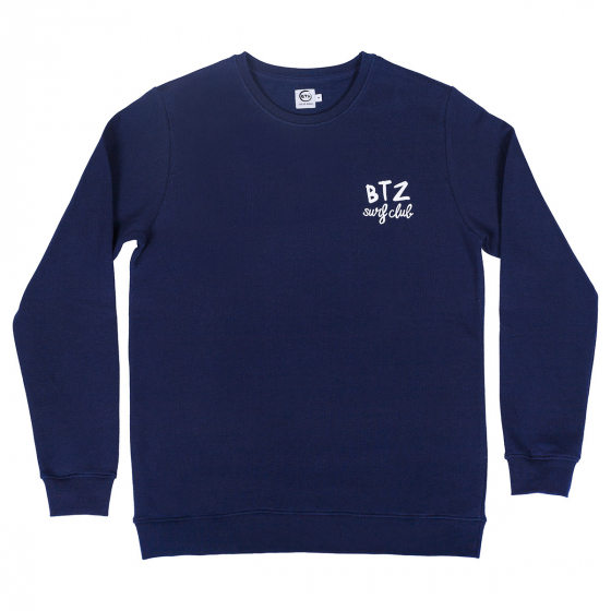 Sweat Surfclub navy homme