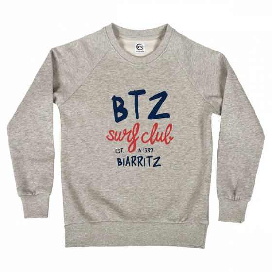 Sweat Surfclub gris enfant