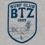 Tee Surfclub gris chiné homme