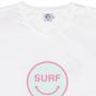 Tee Happy Surf blanc femme