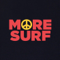 Sweat More Surf noir homme