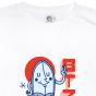 Tee Mister Fish blanc homme