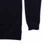 Sweat Single Fin noir homme