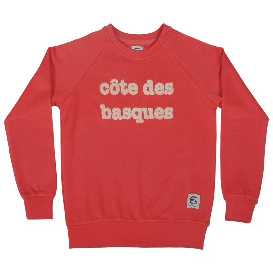Sweat CDB rouge homme