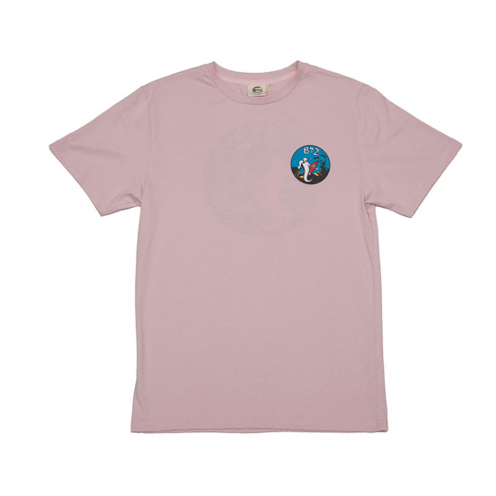 TEE FANTOME ROSE HOMME
