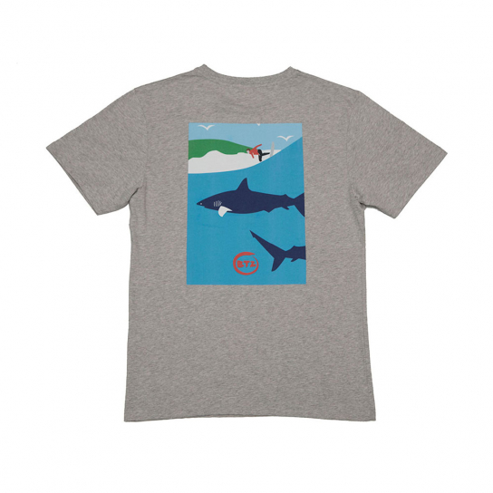 TEE Shark Surfeur