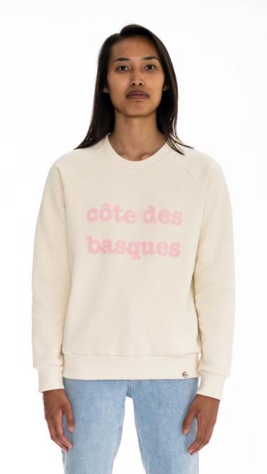 Sweatshirt Côte des Basques ÉCRU