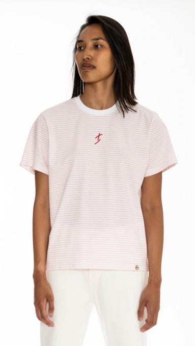 T-shirt à rayure surfeur