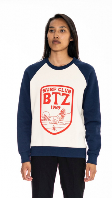 Sweatshirt bicolore Surf Club