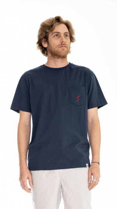 T-Shirt Surfeur MARINE
