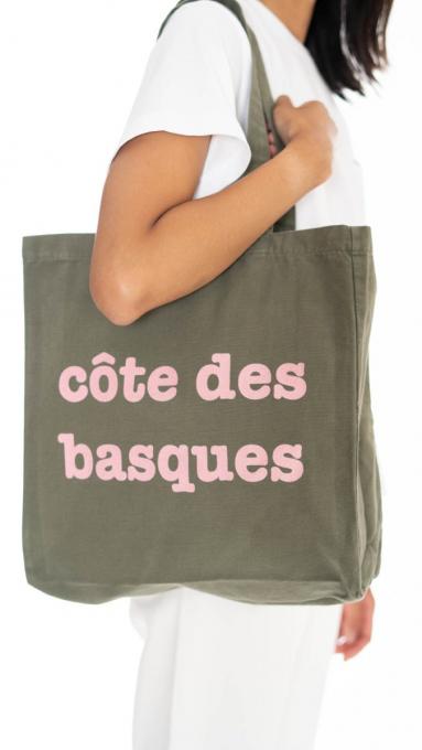 Tote bag Côte des Basques KAKI